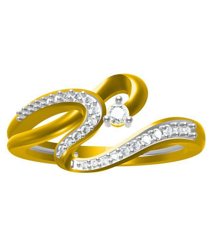 Sakshi Jewels 14kt Gold Diamond Ring
