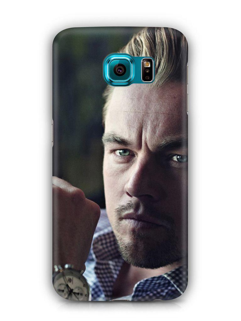 Cover Affair Leonardo Di Caprio 3D Printed Back Cover Case for Samsung Galaxy S6 Edge