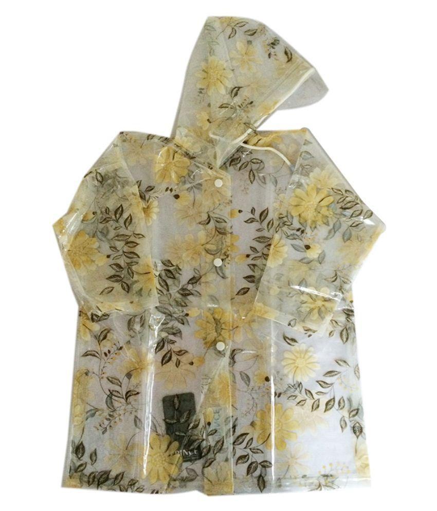 Prince Rainwear Multicolour Nylon Rainwear for Girls - Pack of 3