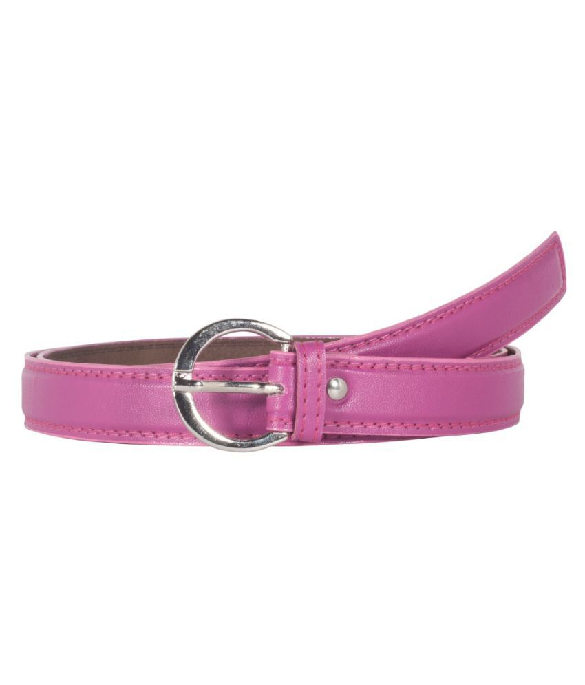 ced3d0716 Snoby Pink Leather Belt for Women  Buy Online at Low Price in India -  Snapdeal