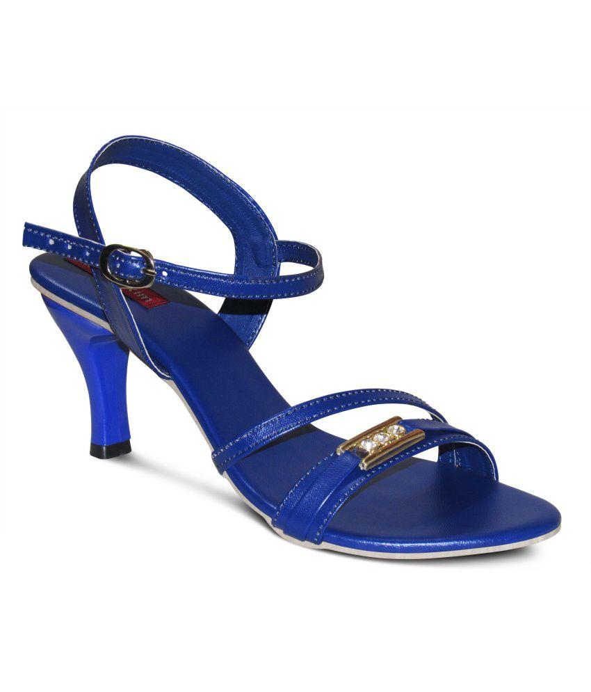 Zikrak Exim Blue Stiletto Heels