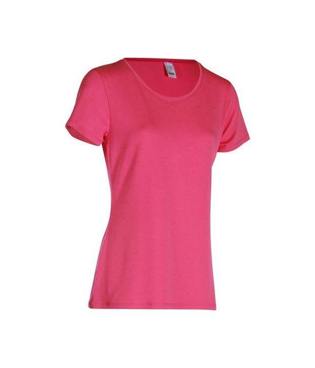 DOMYOS Comfort Plus Women's Fitness T-shirt