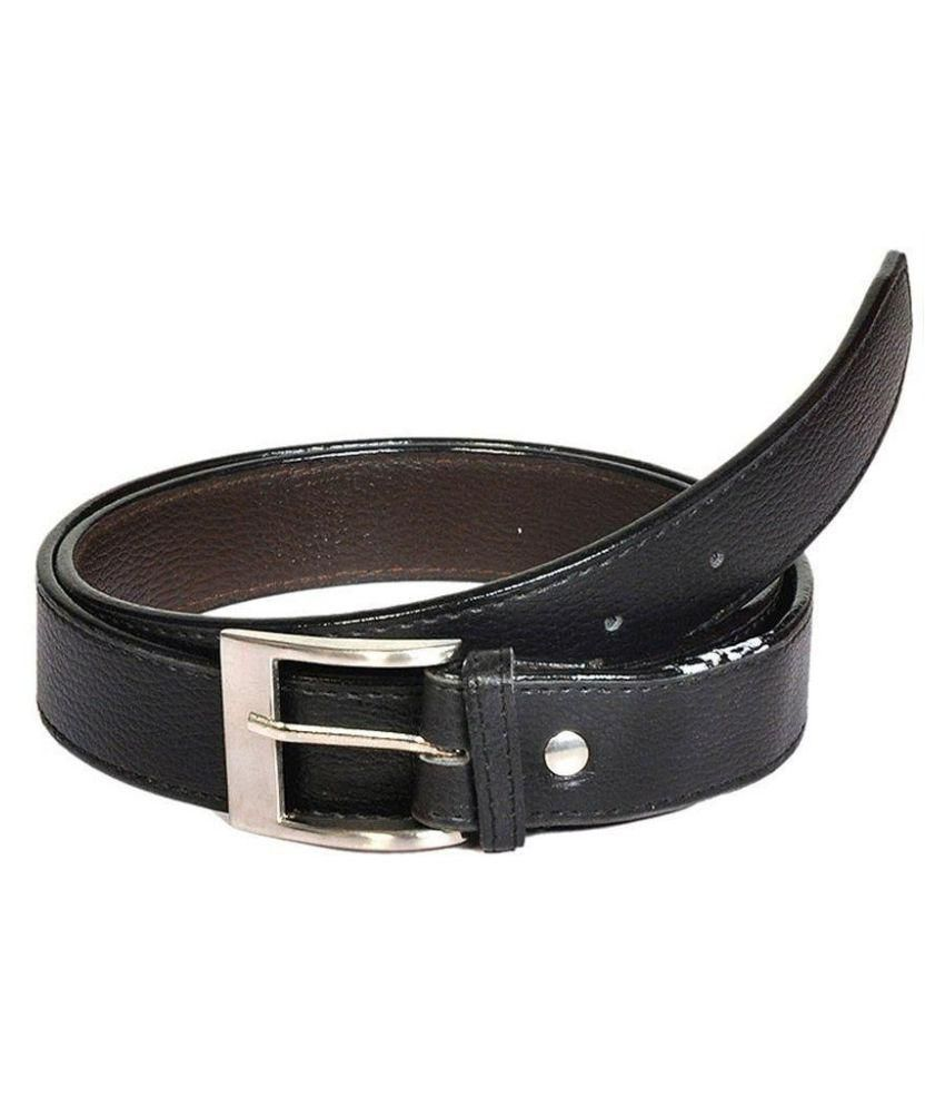 Doller Dx Black Casual Belt for Men