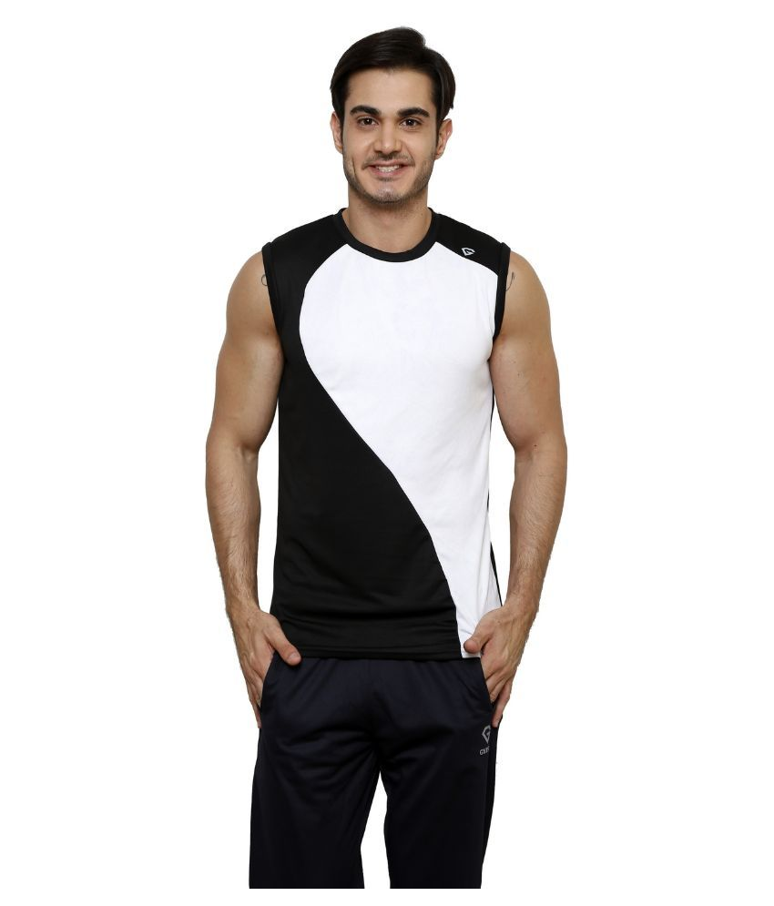 Gypsum Black Round T Shirt