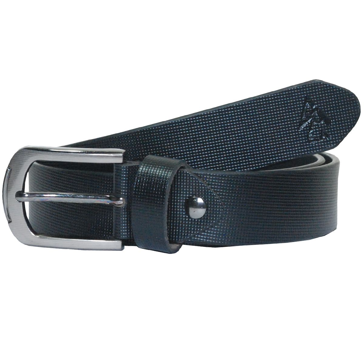 Sondagar Arts Black Leather Formal Belt