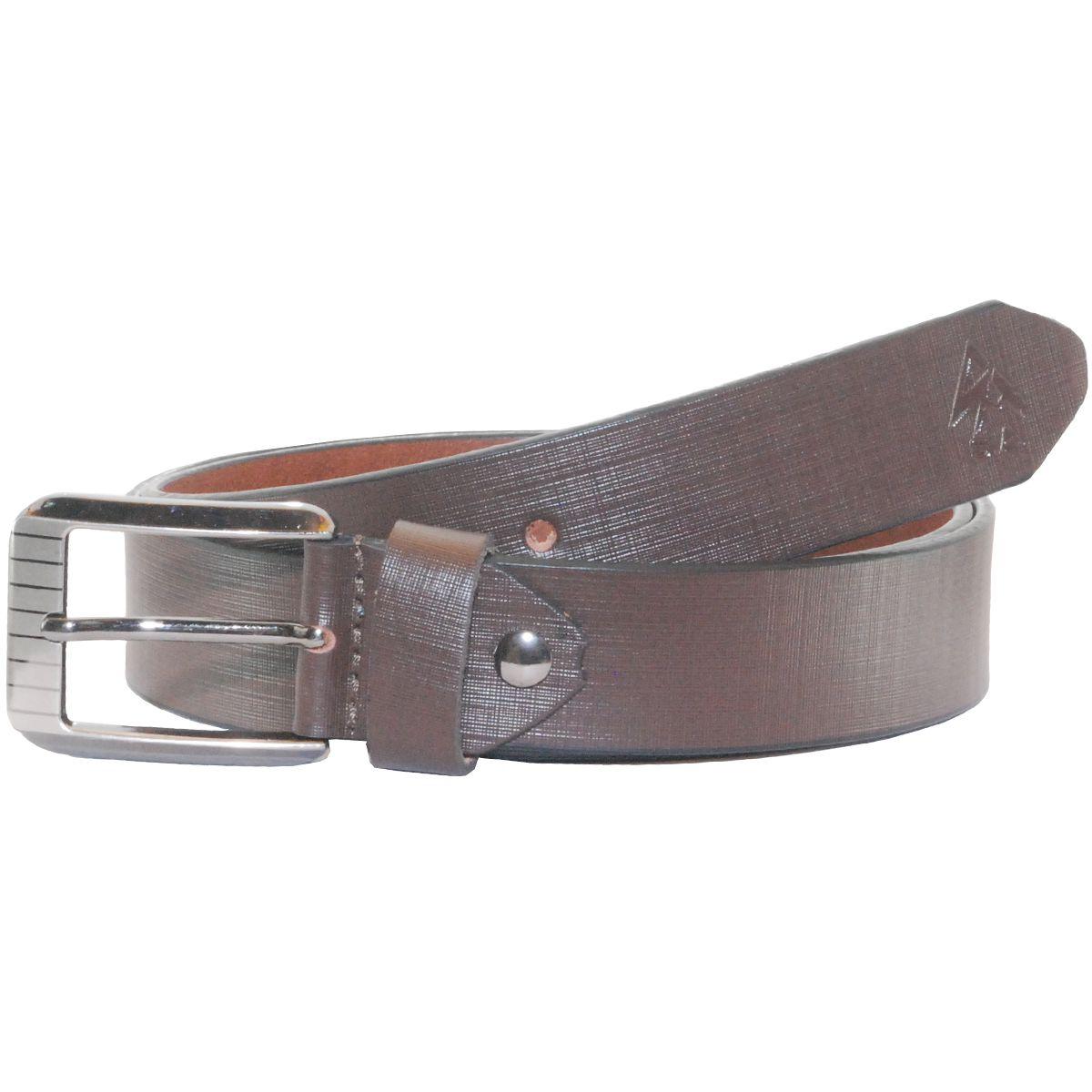 Sondagar Arts Brown Leather Formal Belt