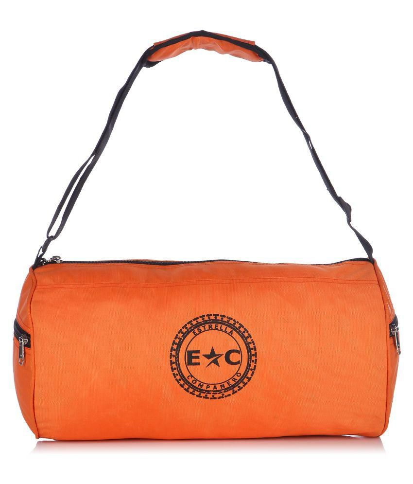 Estrella Companero Orange Gym Bag
