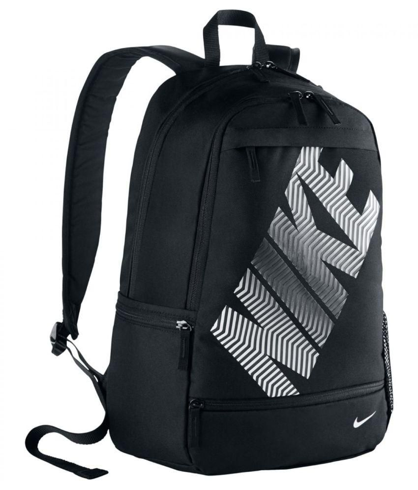 9b80d7c508 Nike Branded Backpack Laptop Bags College Bags School Bags BA4862 001 Black  23 L Polyester - Buy Nike Branded Backpack Laptop Bags College Bags School  Bags ...