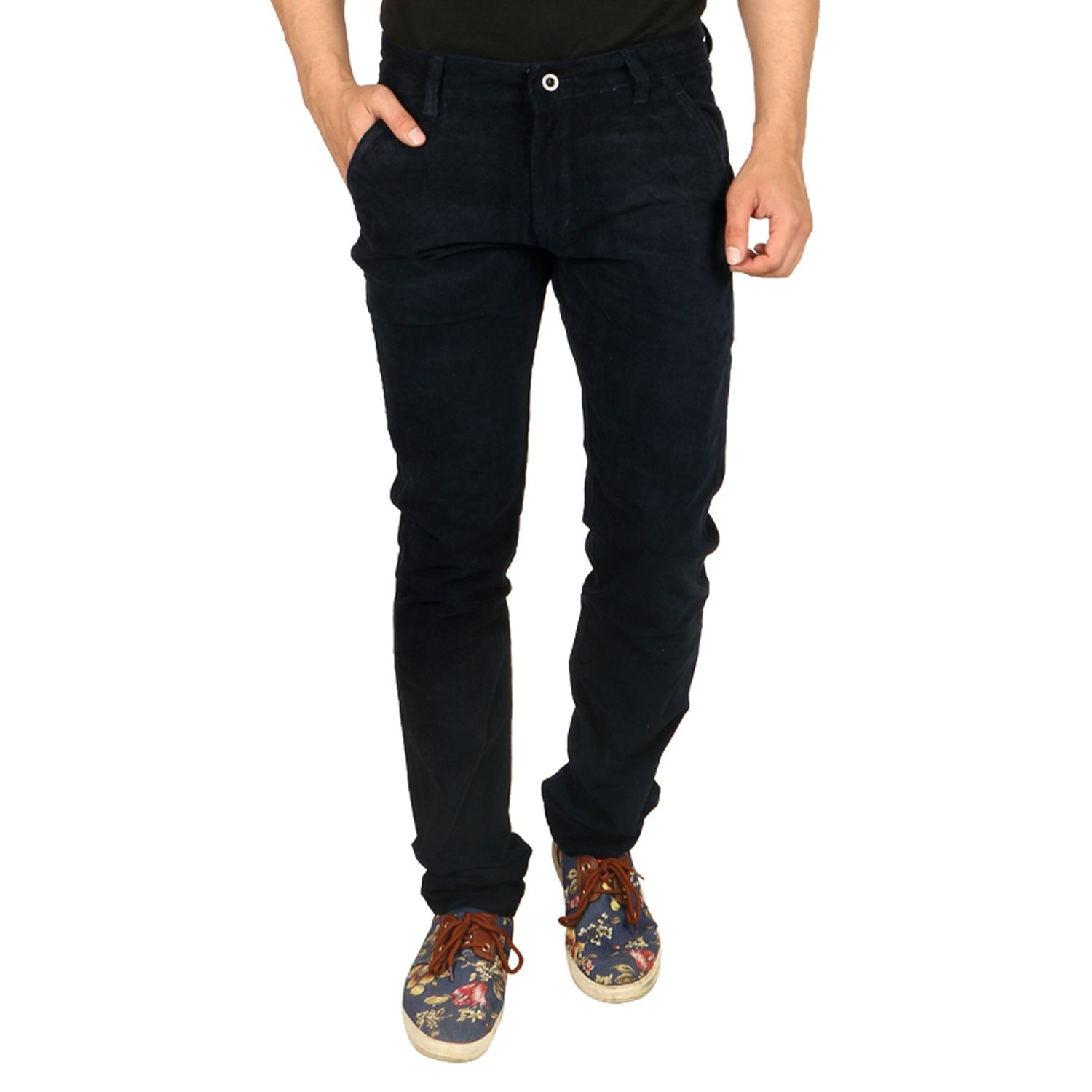 Nimegh Blue Slim Fit Chinos