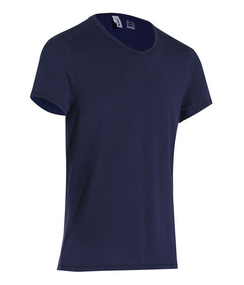 DOMYOS Comf+ Ts Slim 16 Men's Fitness T-Shirt By Decathlon