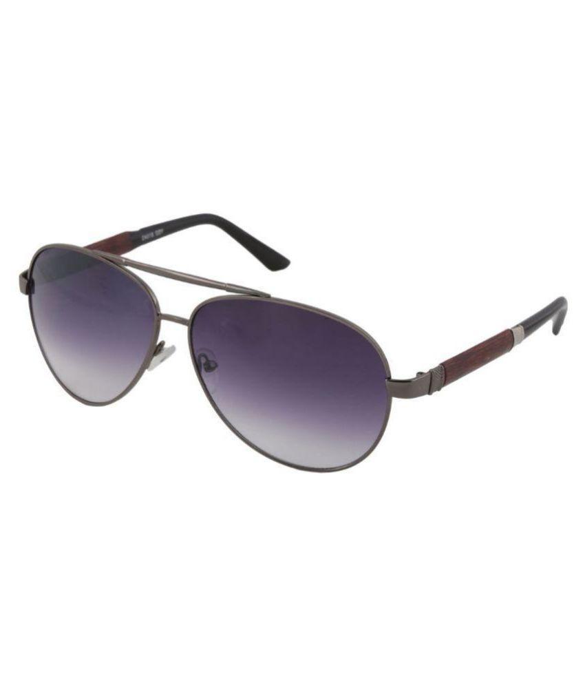 Petrol Voilet Aviator Sunglasses ( PYSD-81043VL )