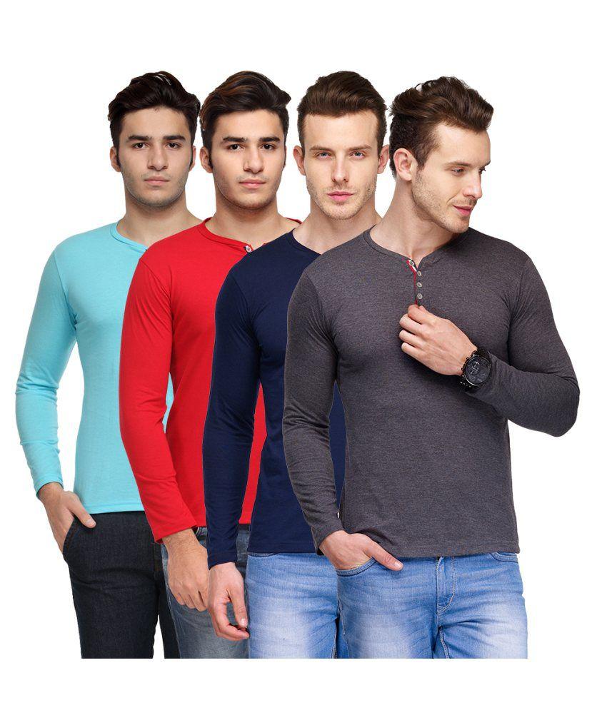TSX Multi Henley T Shirt