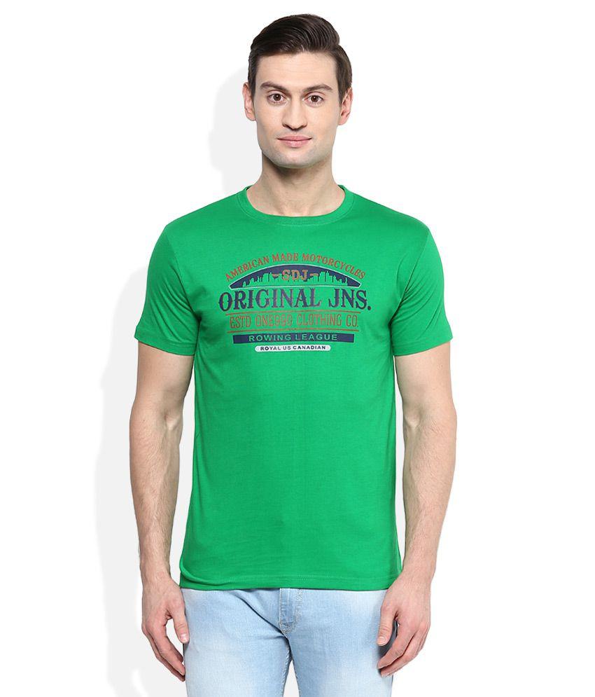 Duke Green Round Neck T Shirt