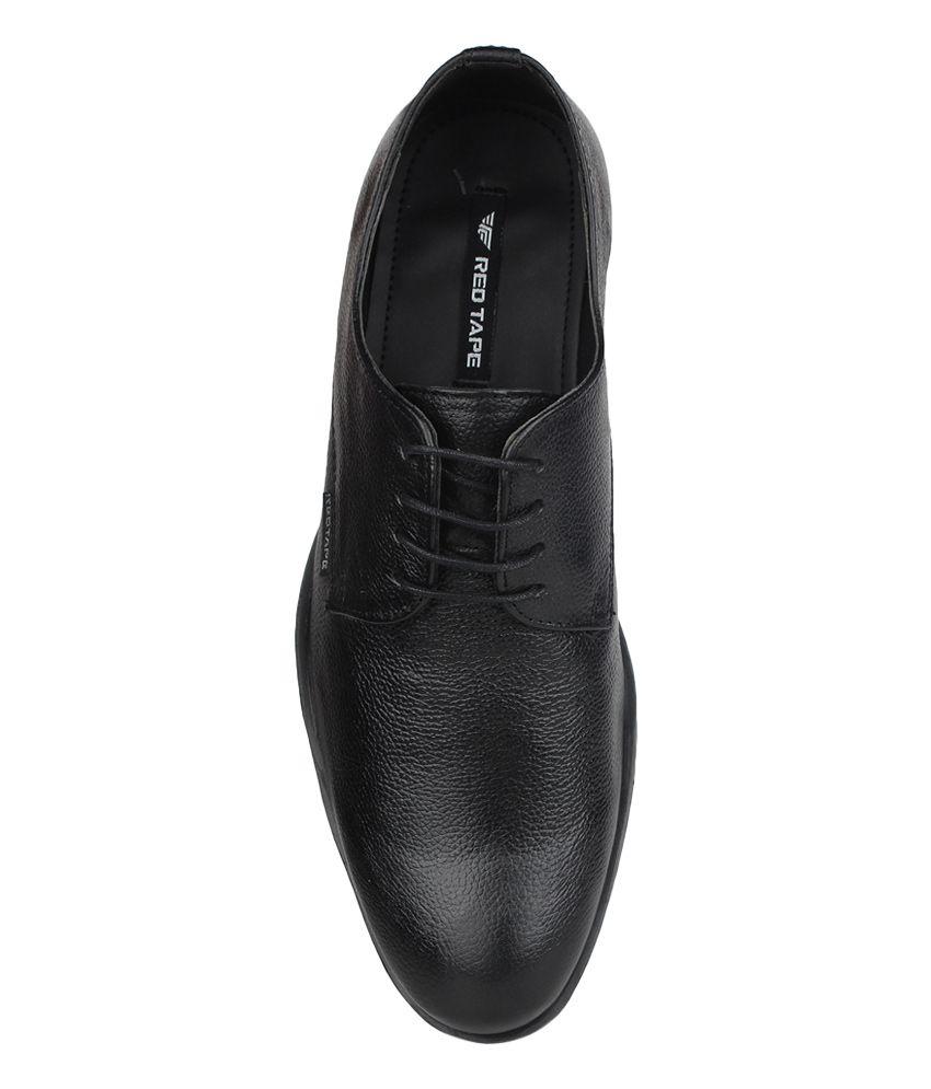 red tape shoes black formal outlet