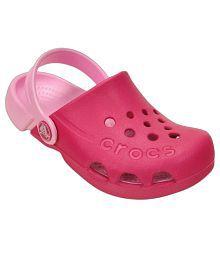 Crocs Roomy Fit Pink Clog