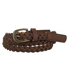 Jainsons Brown Belt for Women
