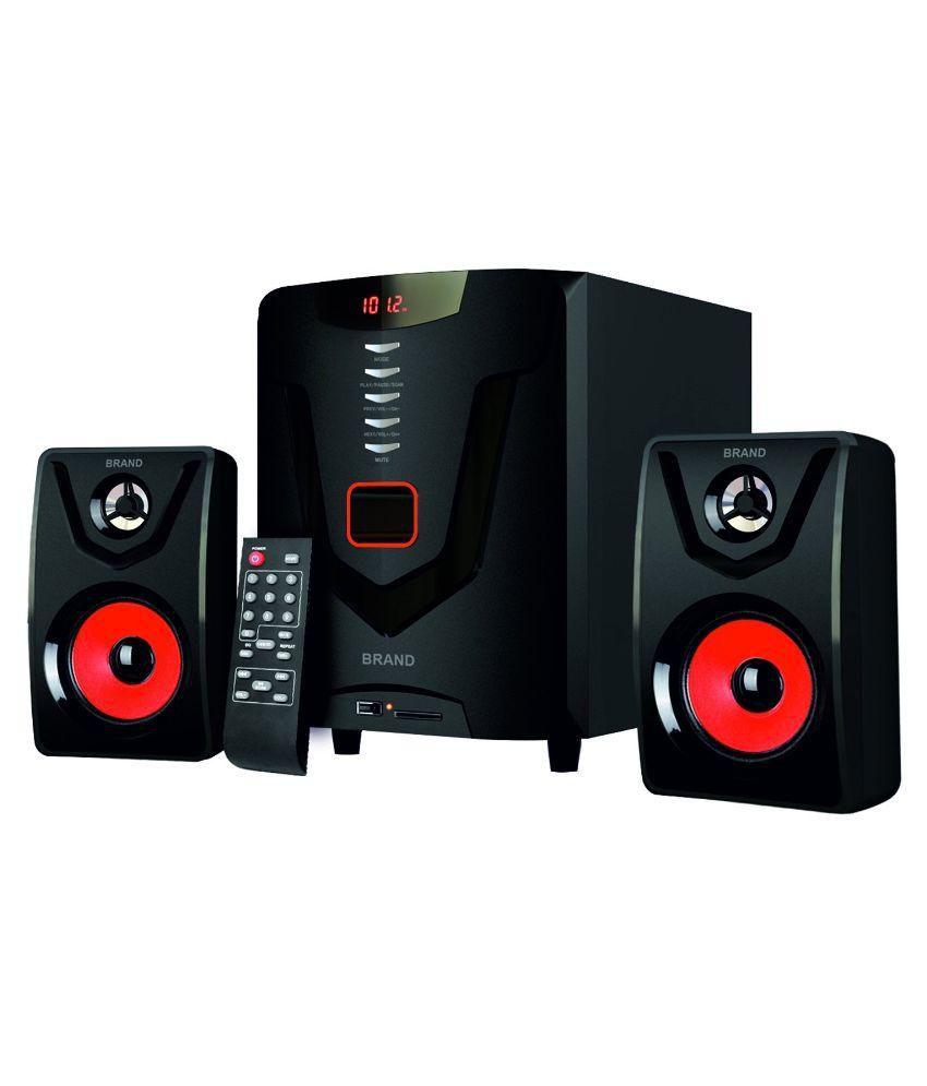 Intex IT 2580 SUF 2.1 Multimedia Speakers - Black