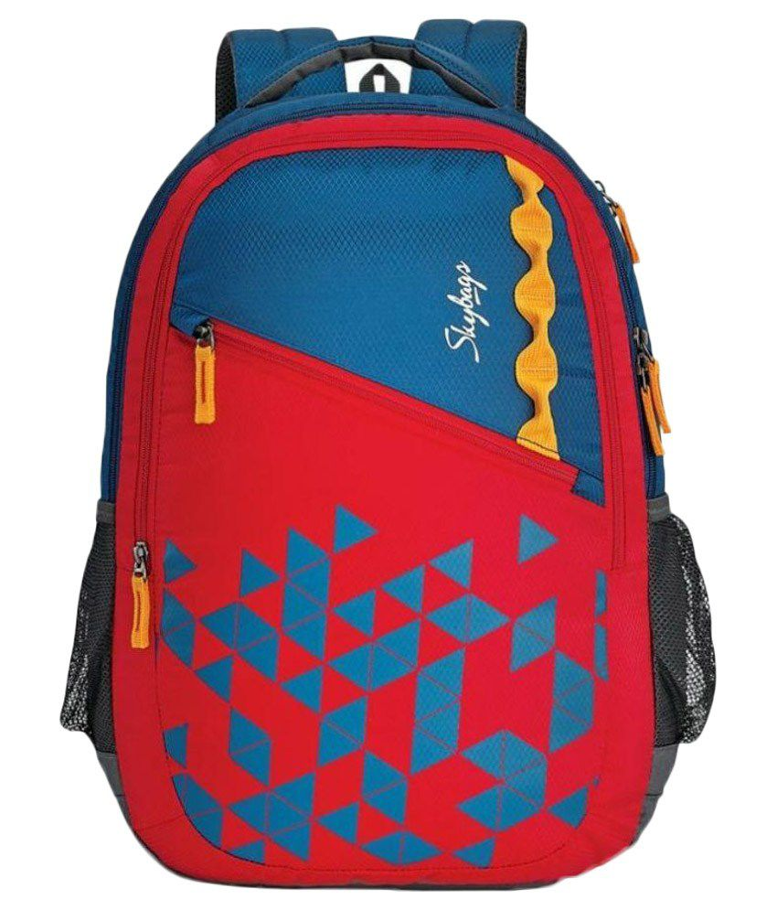 Skybags Red Polyester School Bag - Buy Skybags Red Polyester School Bag  Online at Low Price - Snapdeal