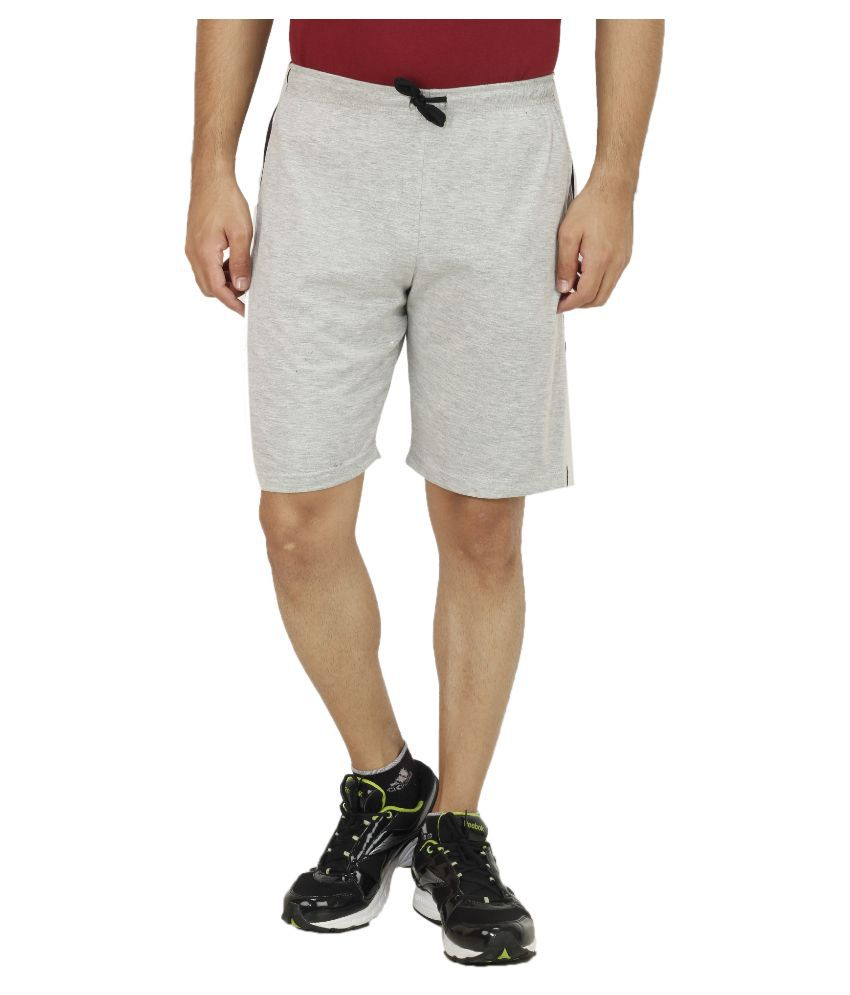 Sanvi Traders Grey Shorts