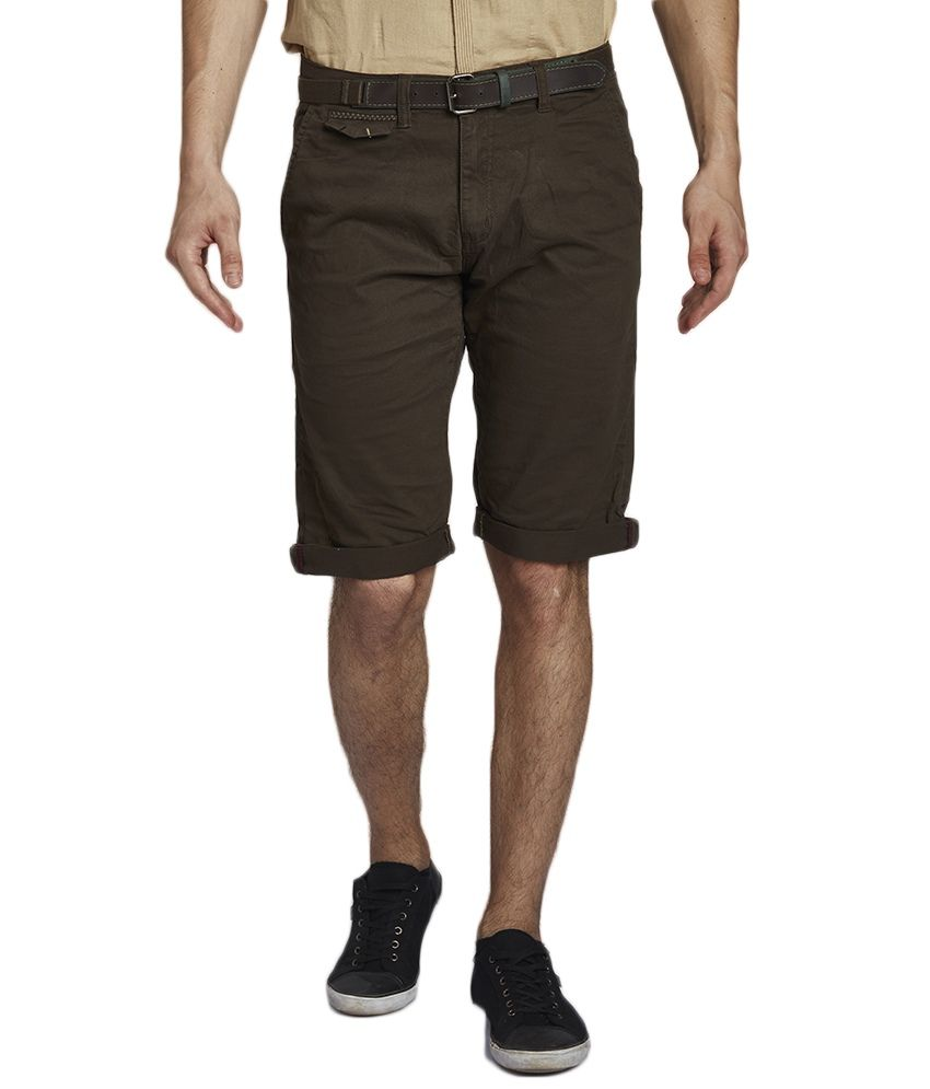 Beevee Green Shorts