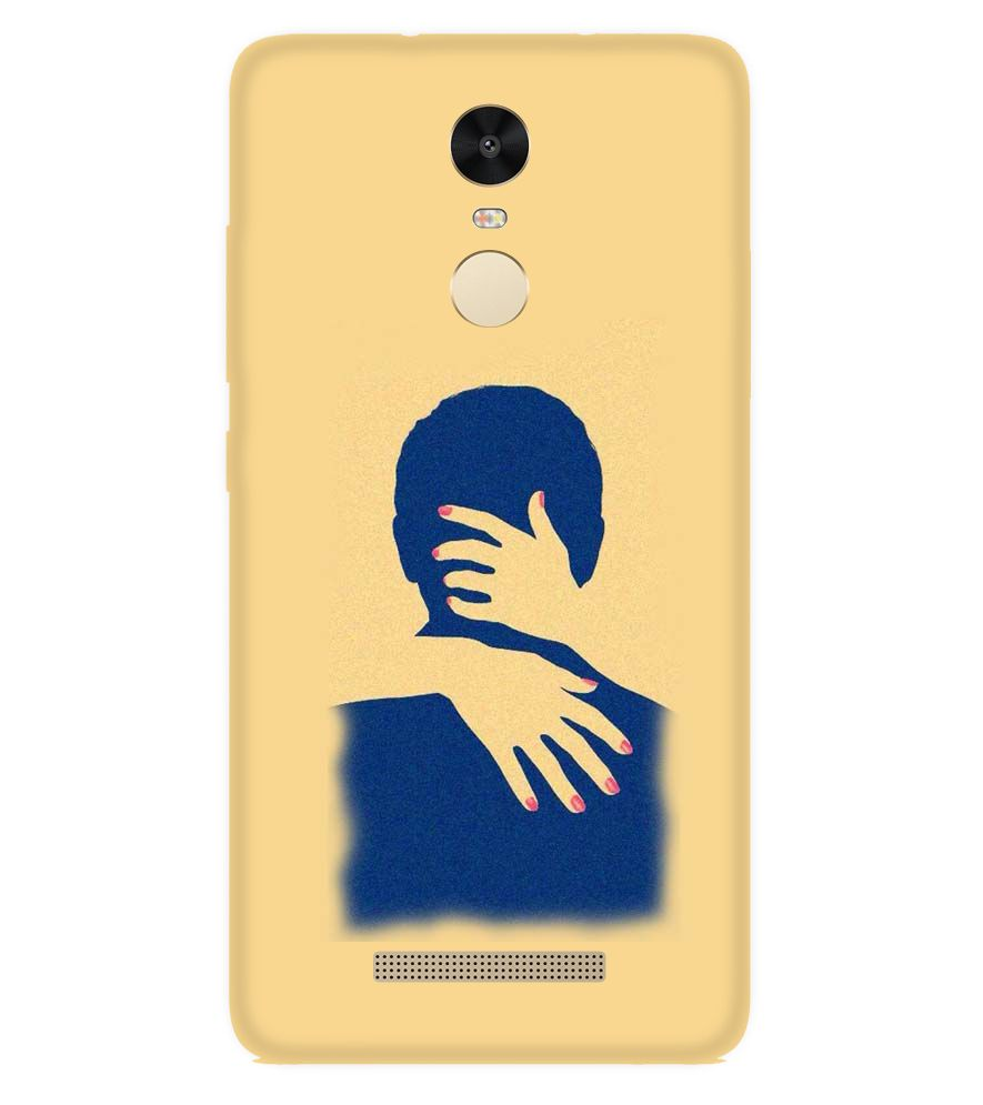 Printswag Couple Hug Designer Back Cover Case For Xiaomi Redmi Note 3 Printed Back Covers