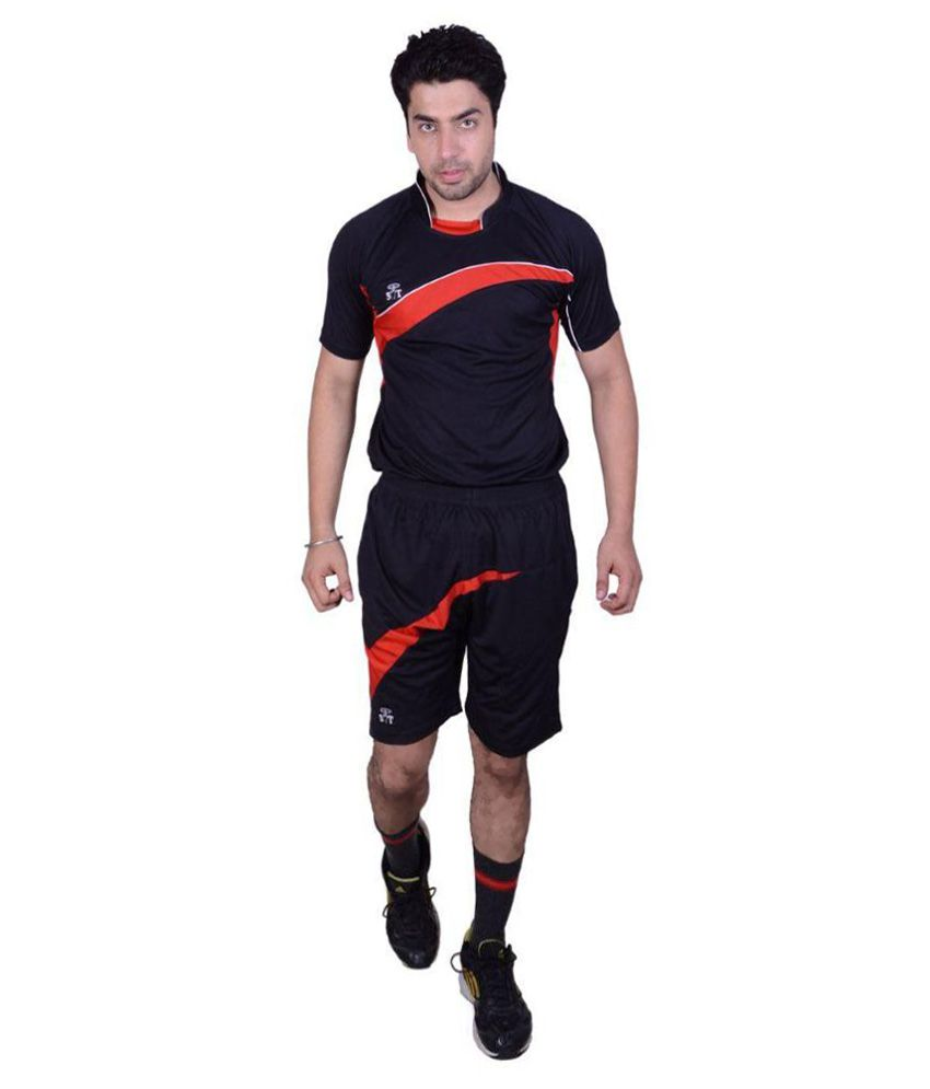 SST Black Polyester Football Dress