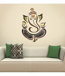 Kakshyaachitra wall border design wall stickers for bedroom and living  room, 24 38 inches