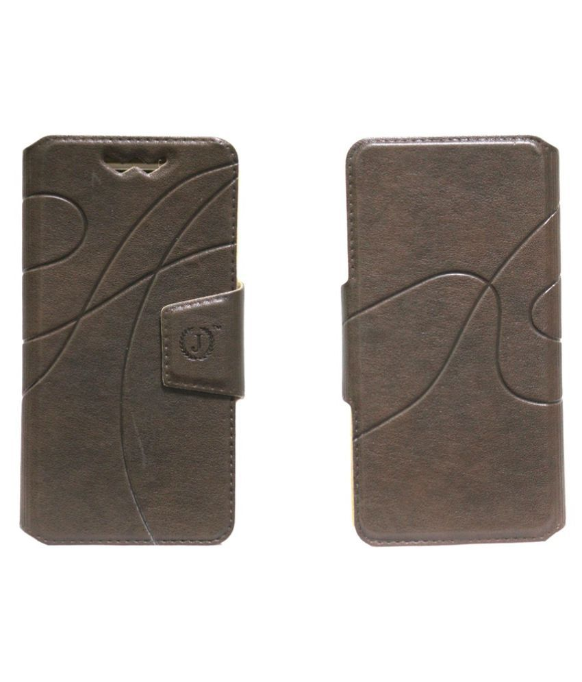 Elephone G6 Flip Cover by Jojo - Brown