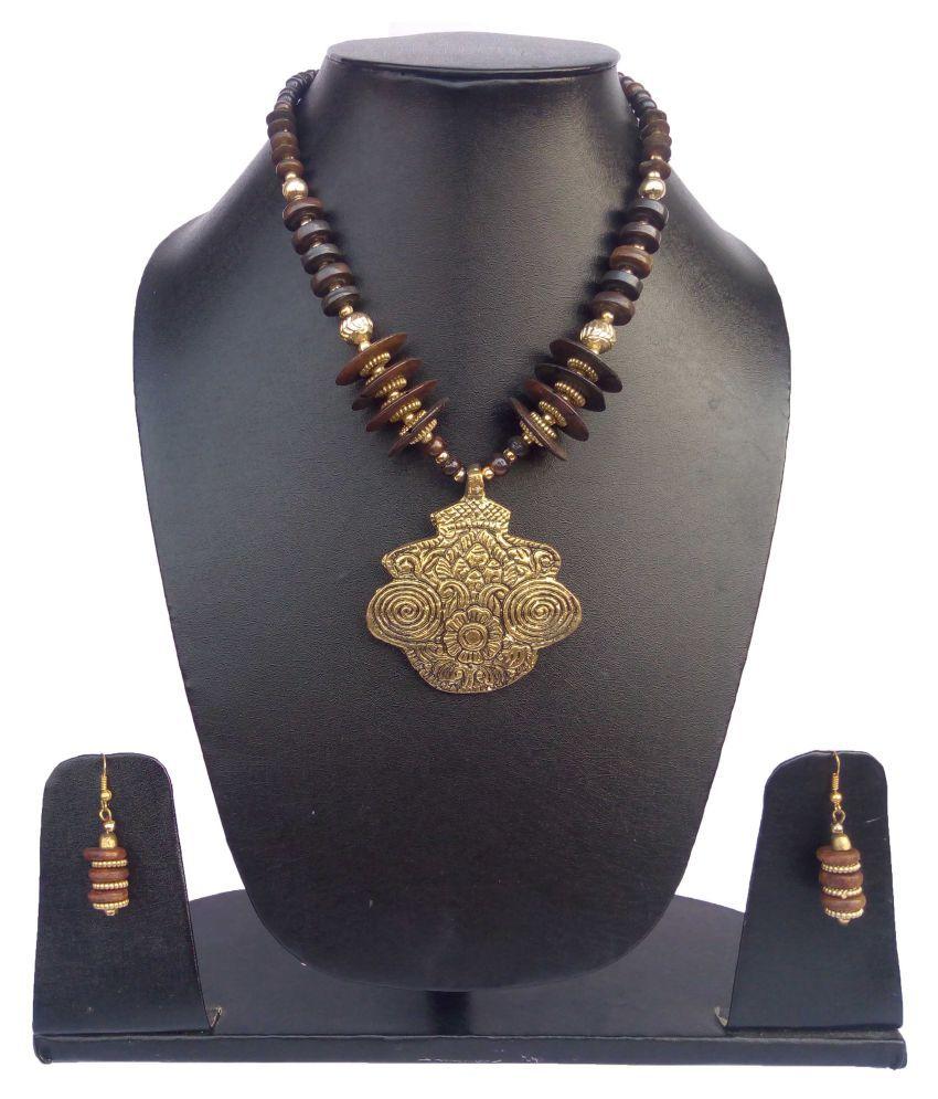 Hunar Arts & Handicrafts Multicolor Necklace Set