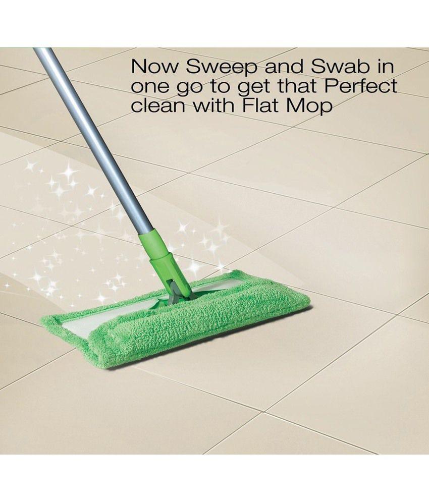 Scotch brite bathroom floor cleaner refills -  Scotch Brite Flat Mop And Refill Combo Sponge Wipe Set Of 5pcs
