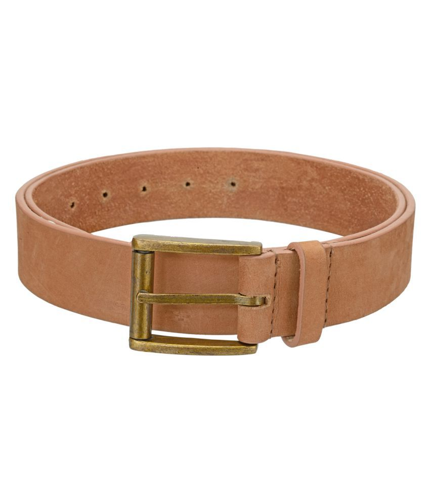 Phive Rivers Brown Leather Casual Belts