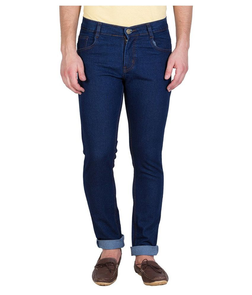 Stylox Dark Blue Slim Solid