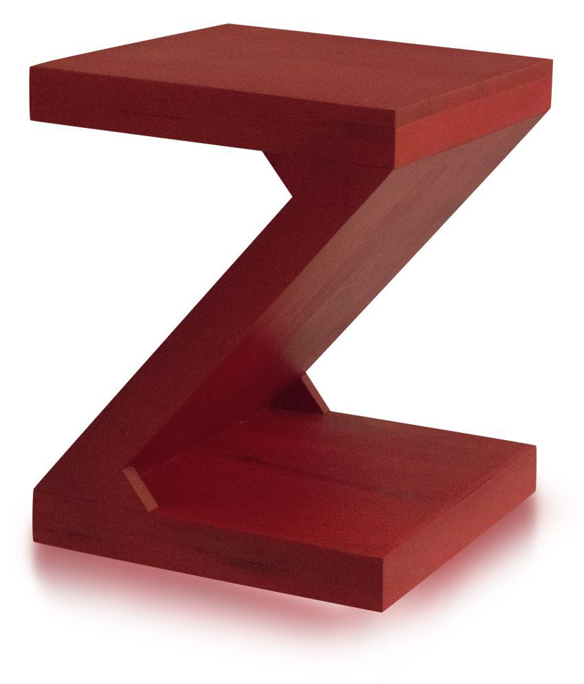 Inliving Zee Solid Wood End Table