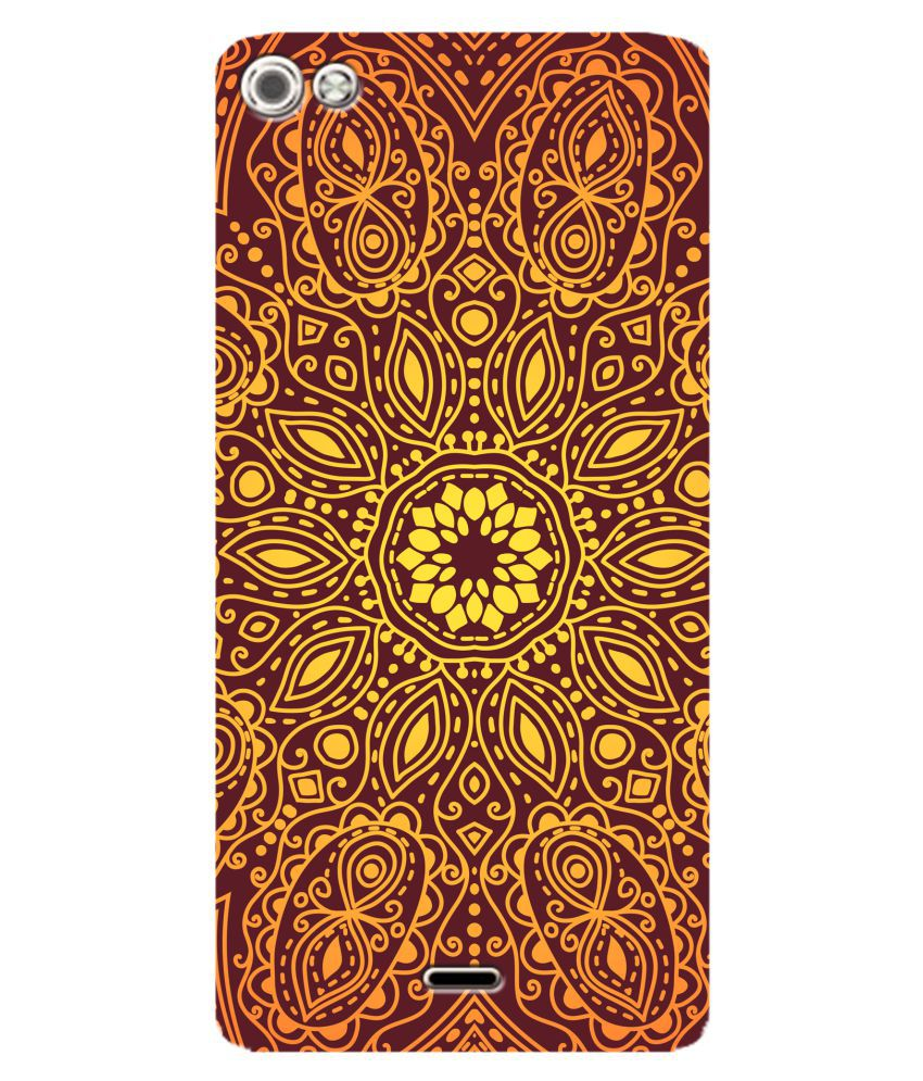 Micromax Canvas Silver 5 Printed Cover By SWAGMYCASE