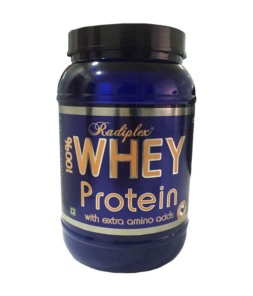 Radiplex Whey- 100% WHEY PROTEIN With Extra Amino Acids