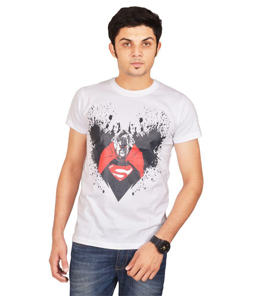 Swag Theory White Round T-Shirt