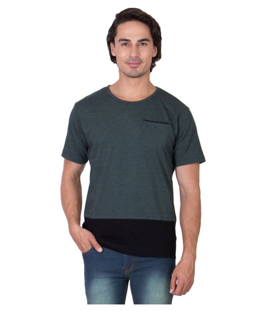 Ganzm Green Round T-Shirt
