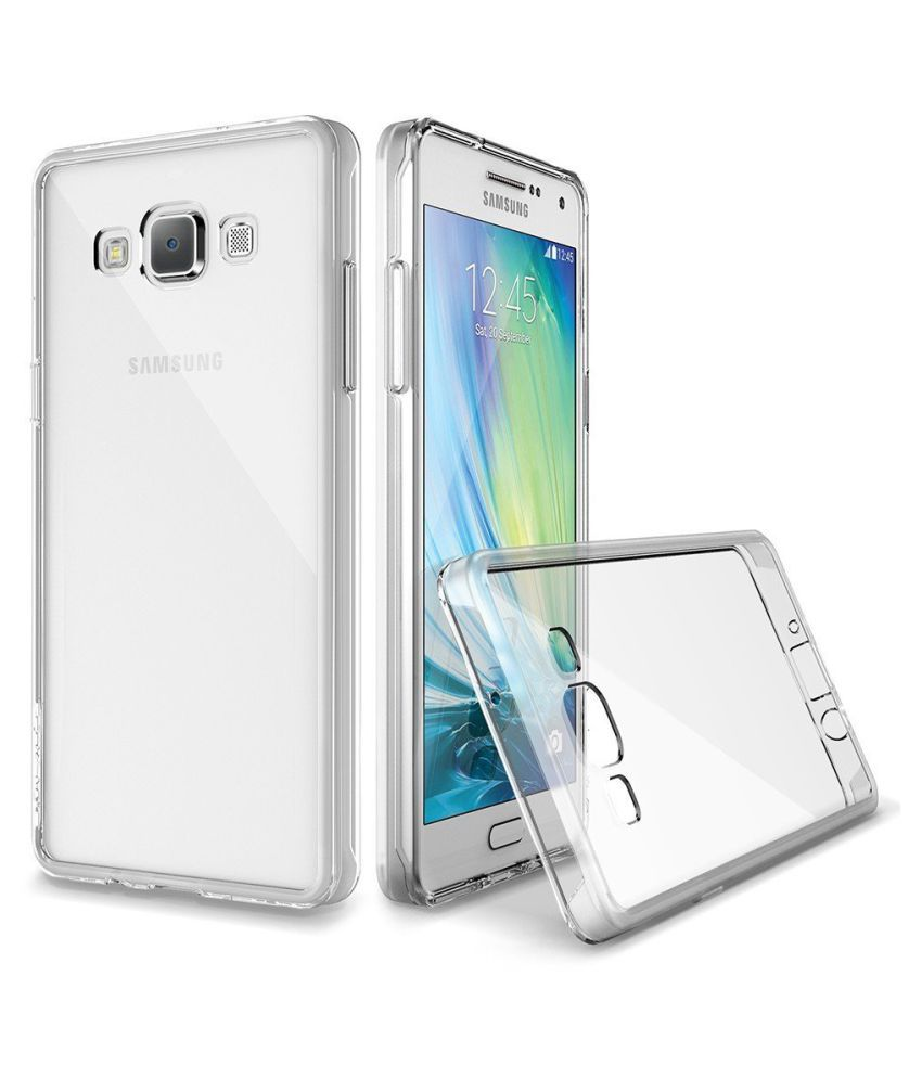 Samsung Galaxy J3 2016 Cover By Profusse Transparent Plain Back