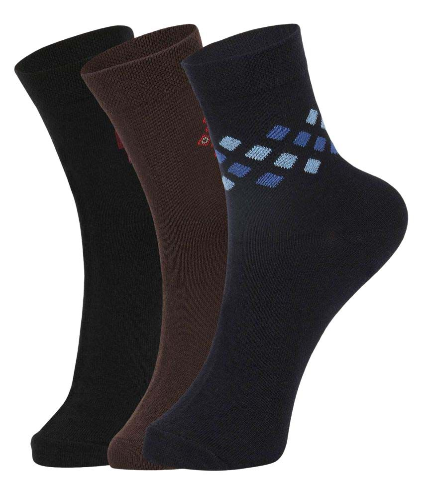Dukk Multi Casual Mid Length Socks