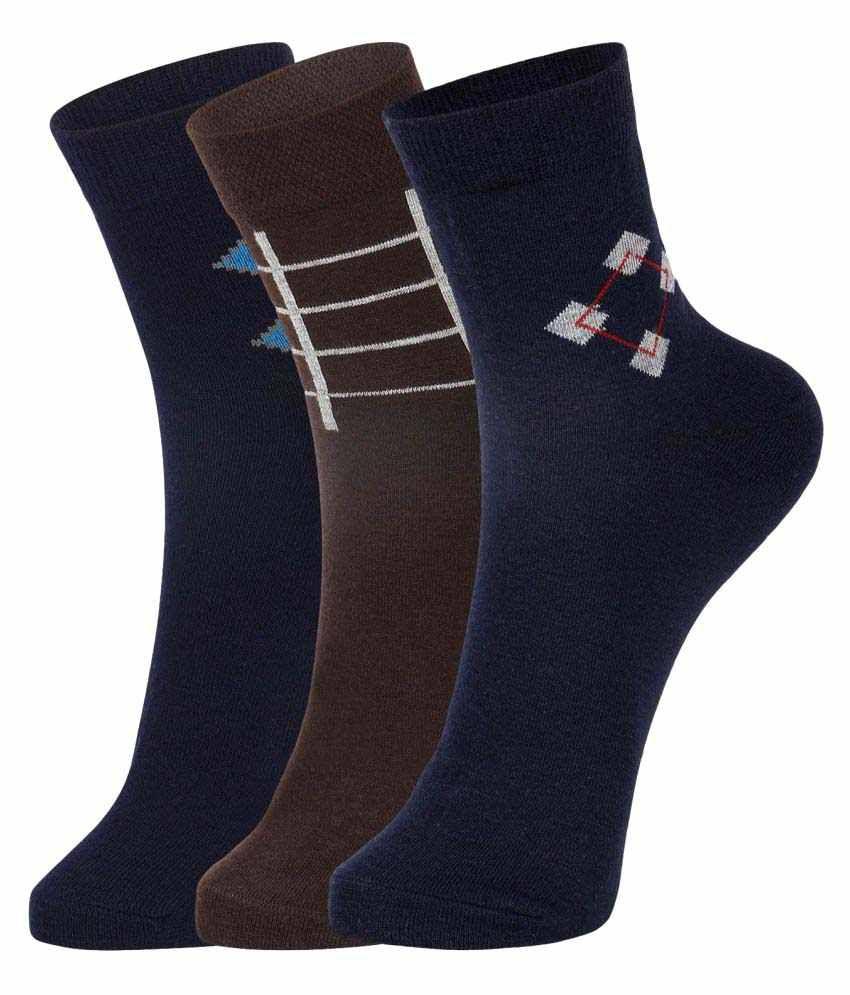 Dukk Multi Formal Mid Length Socks