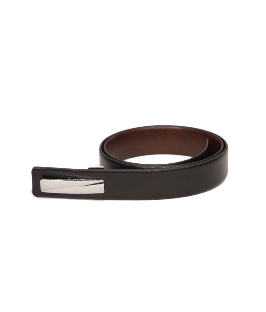Hummingbird Black Leather Formal Belts