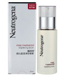 Neutrogena Imported Fine Fairness Brightening Serum 30ml And Neutrogena Imported Fine Fairness Toner 150ml Pack Of 2 (Made In Korea)