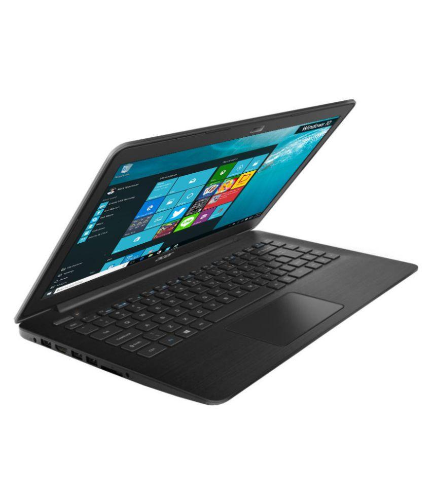 Acer One 14 UN.Y52SI.008 Notebook (Intel Pentium- 4GB RAM- 500GB HDD-35.56 cm (14)- Windows 10) (Black)