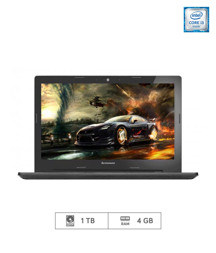 Lenovo G50 80 Notebook  80E502Q3IH   5th Generation Intel Core i3  4 GB RAM  1TB HDD  39.62 cm  15.6   DOS  2 GB Graphics   Black  available at SnapDeal for Rs.27899