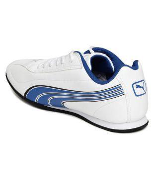 Puma Wirko XC 3 DP White Running Shoes