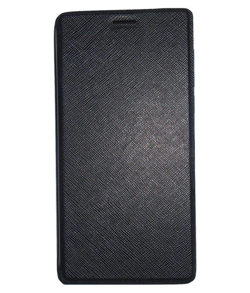 separation shoes 5e5bd c8db9 Xolo Era 4G Flip Cover by Mercator - Black