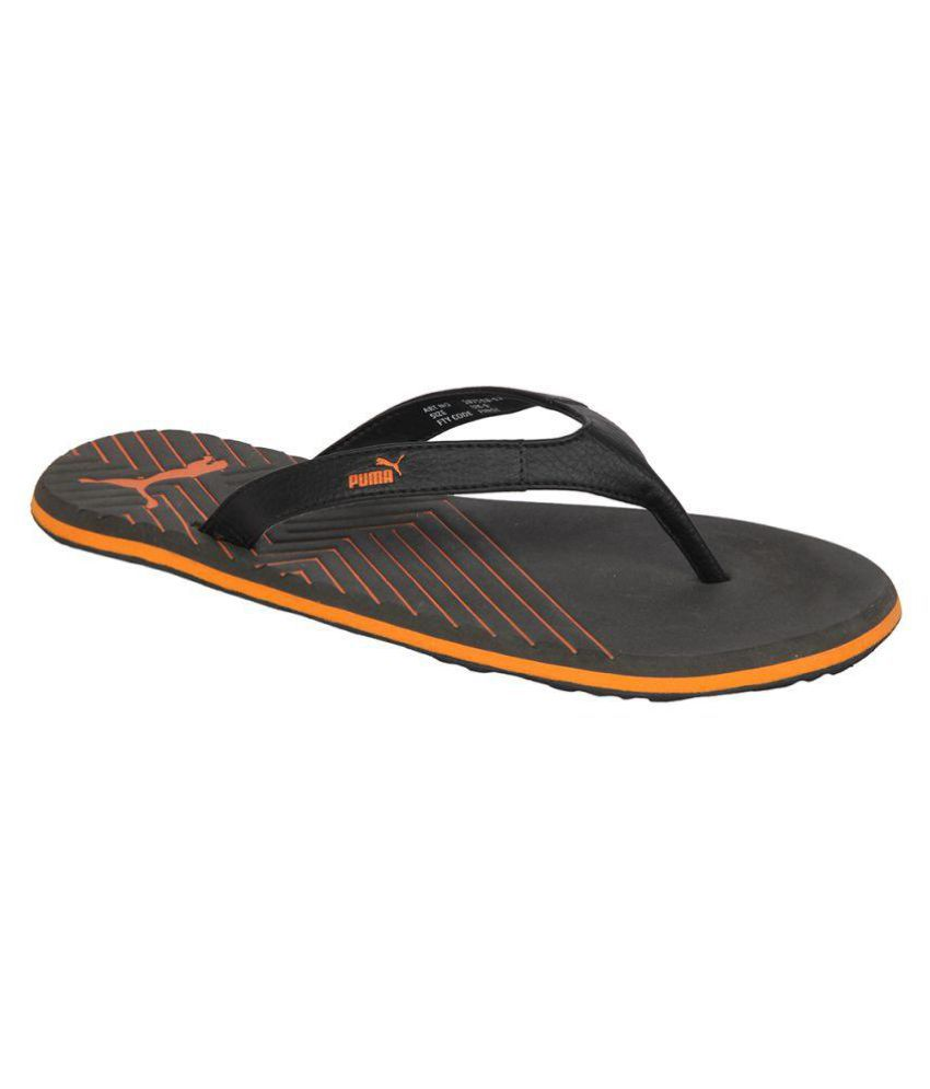 35c77185c84a Puma Webster Ind. Black Daily Slipper Price in India- Buy Puma Webster Ind.  Black Daily Slipper Online at Snapdeal