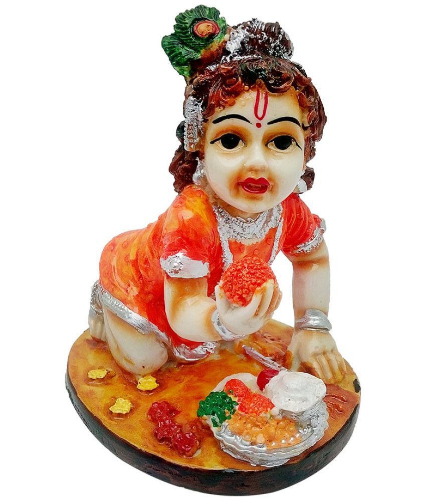Art N Hub Krishna Earthenware Idol