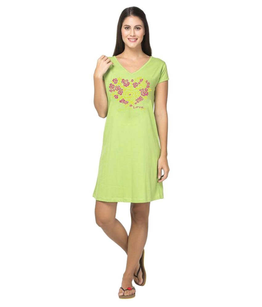 Clifton Green Cotton Night T-Shirt