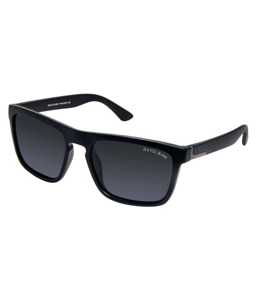 David Blake Grey Wayfarer Sunglasses ( P528C1 )